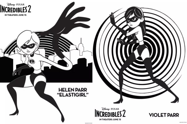 Incredibles 29 crafts, printables, recipes & coloring pages