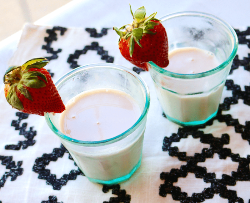 strawberry milk recipe