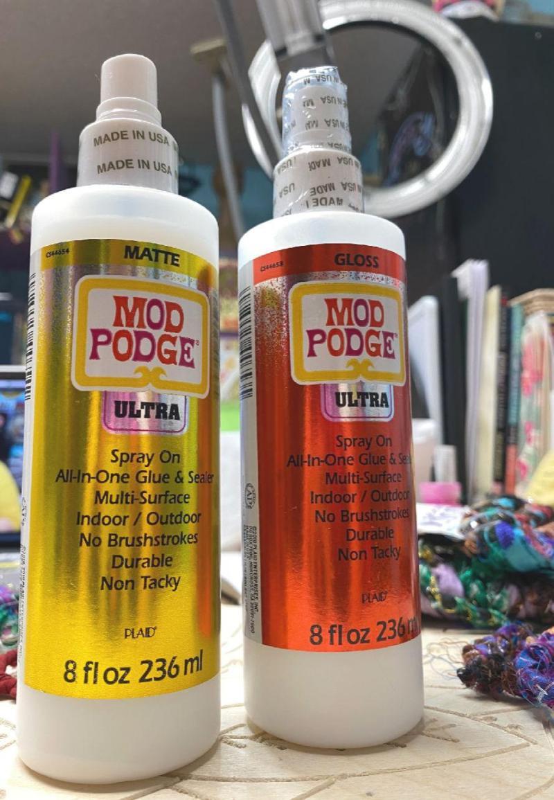 Mod Podge Ultra Review #craftychica #modpodgeultra