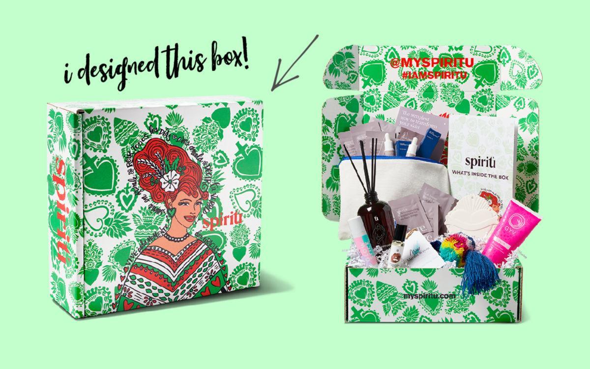 My Spiritu box by Crafty Chica #craftychica #myspiritu