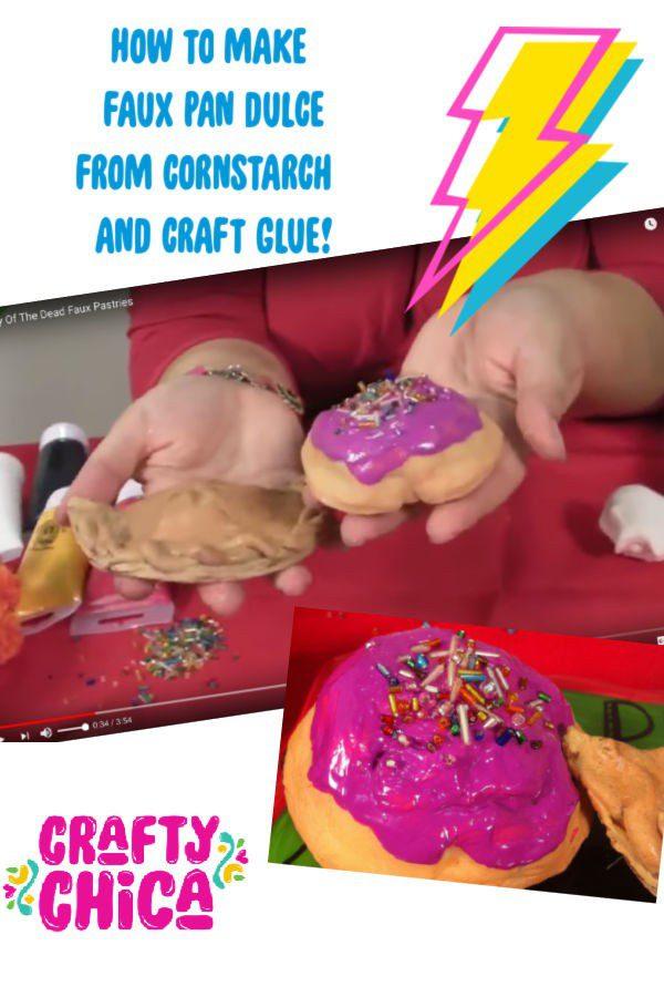 Faux pan dulce #craftychica #pandulce #cornstarchcrafts