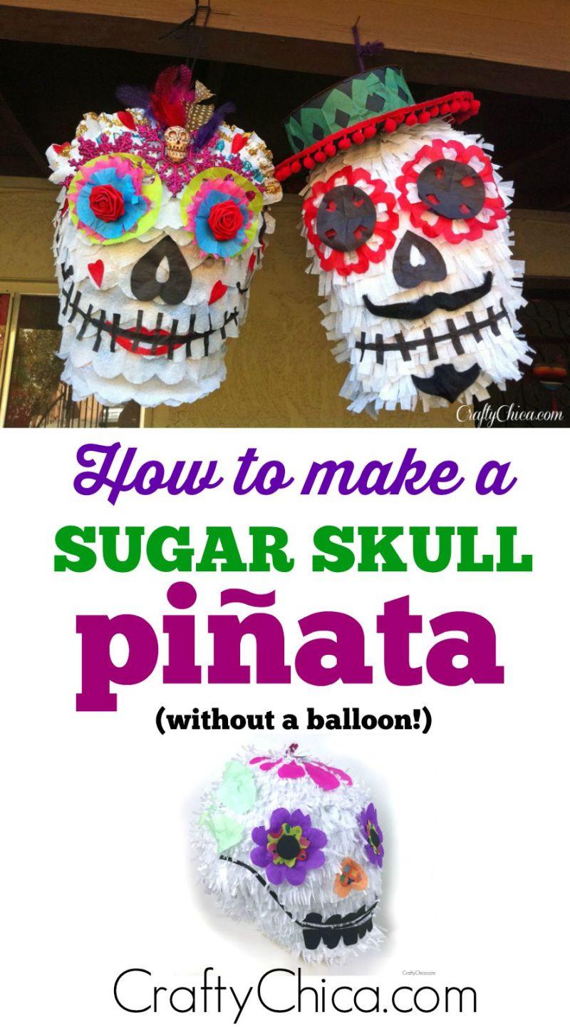 sugar-skull-pinata-diy