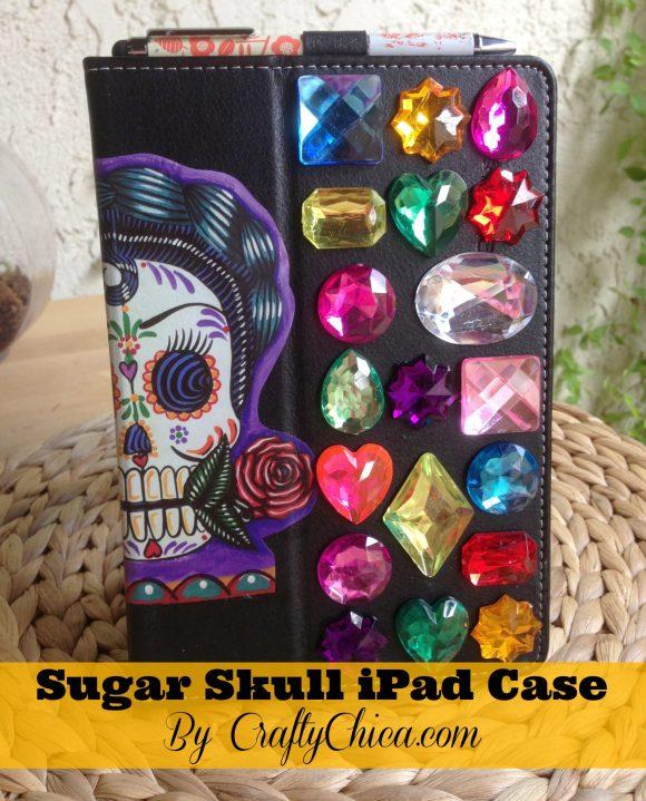 sugar-skull-ipad-case