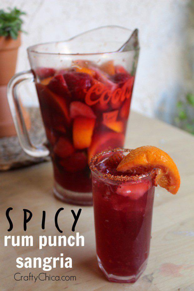 Spicy Rum Punch Sangria
