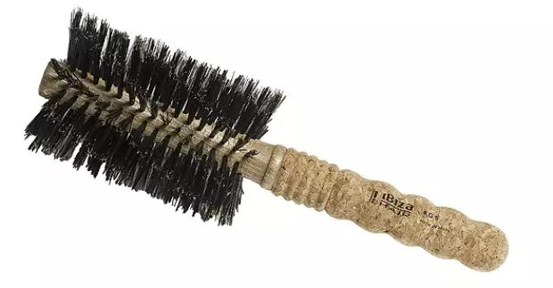 Boar bristle brush from Ibiza.