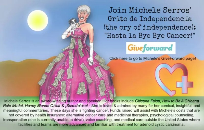 Click here to see Michele's fundraiser page!
