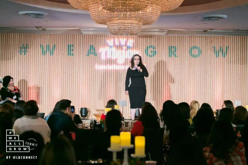 Claudya Martinez. Photo by Robson Muzel and #WeAllGrow Summit 2015.