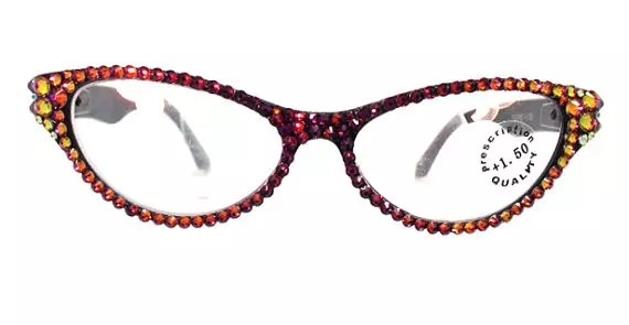 crystal-cat-eye glasses