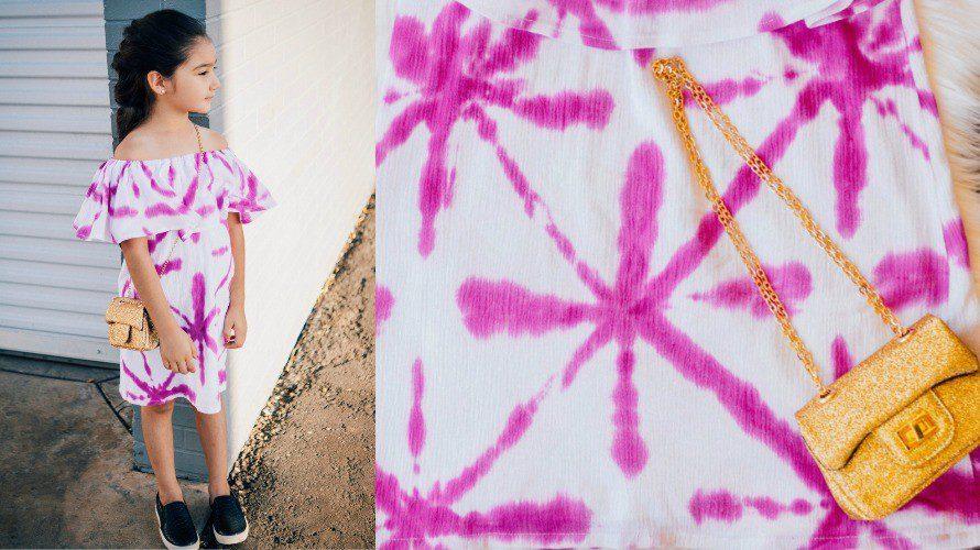 Sekka Shibori Dyed Summer Dress - The Crafty Chica