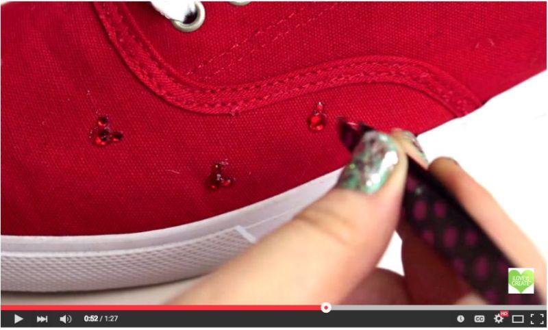 Hidden Mickey Sneakers DIY