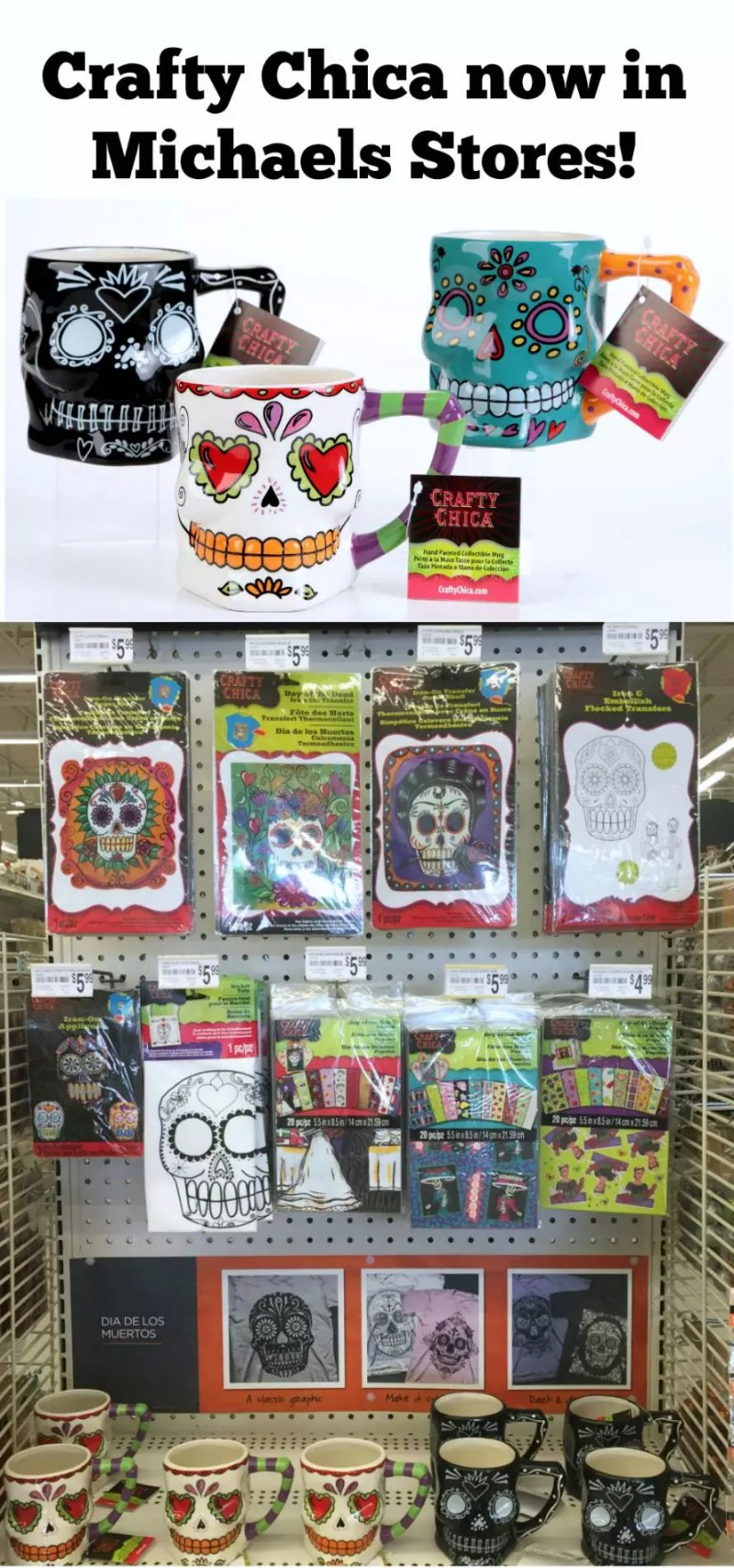 Crafty Chica products at Michaels