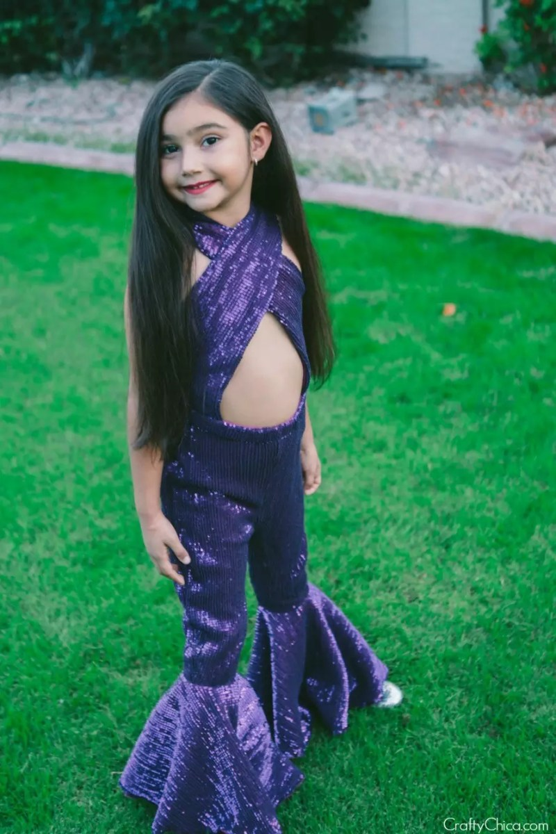 For serious-Selena fans! If you live in a colder climate, wear a leotard underneath!