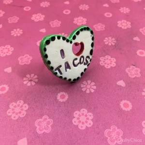 I love Tacos Ring by Crafty Chica