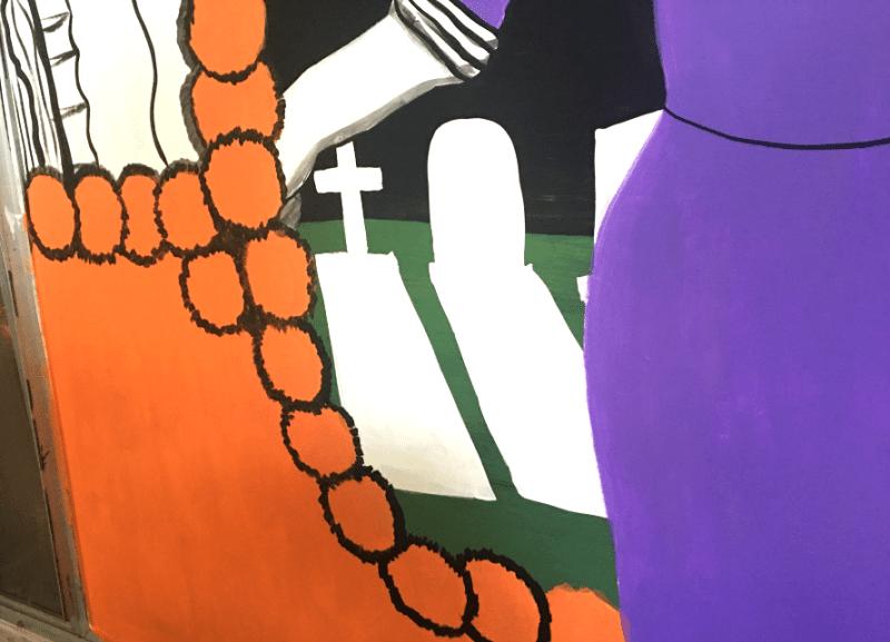 muertos mural