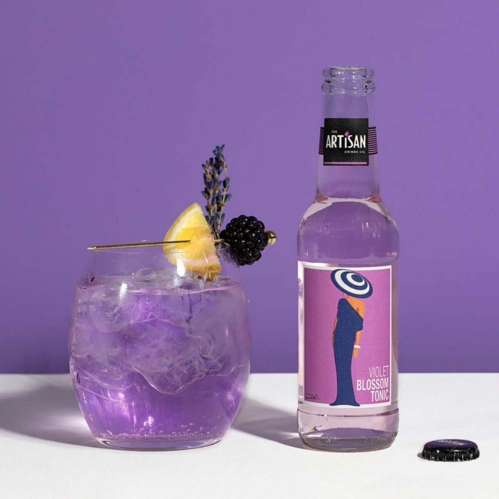 The Artisan Drinks Co Violet Blossom Tonic