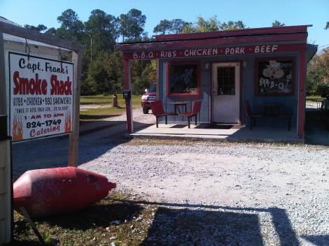 Southern BBQ shack