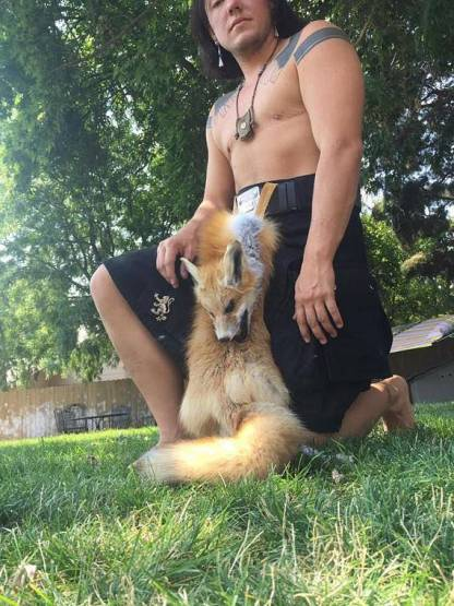 full Mask sporran Fox