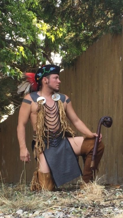 Native American Made Loincloth breechclout for pow wow regalia reenacting