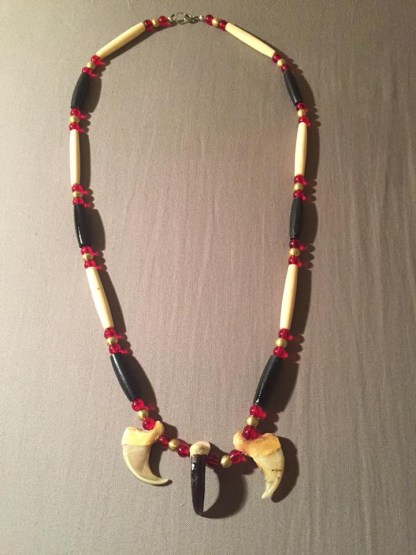 Cougar claw necklace