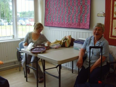 Monday quilters at Ritas 1