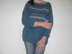 72bb6a6bc Simple Crochet Sweater ~ A Review by Crafty Cruella - Crafty Cruella