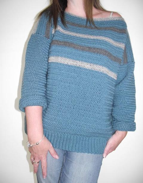 Simple Crochet Sweater A Review By Crafty Cruella Crafty Cruella