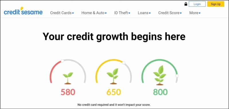 Credit Sesame Credit Monitoring