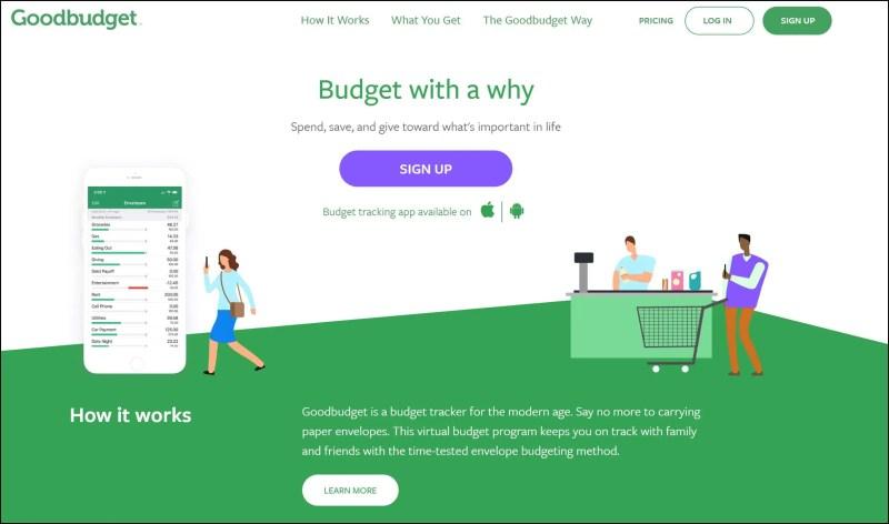 Good Budget Envelope Budgeting App
