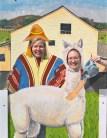 At an alpaca farm