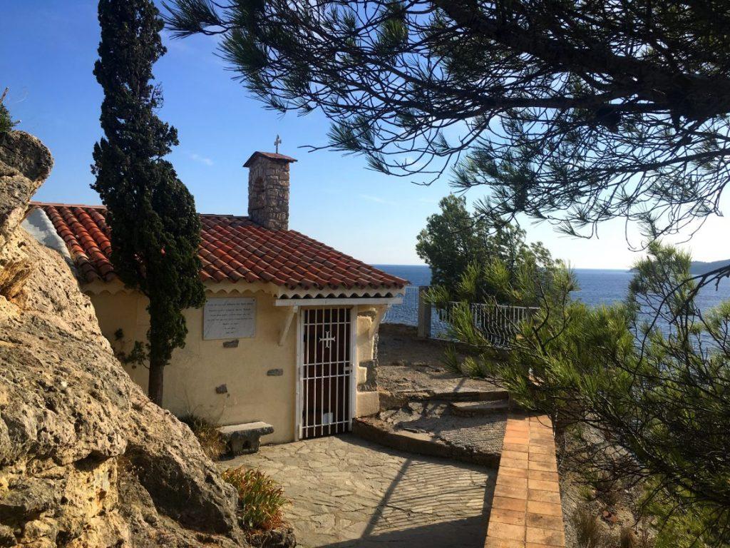 chapel bush sea toulon France