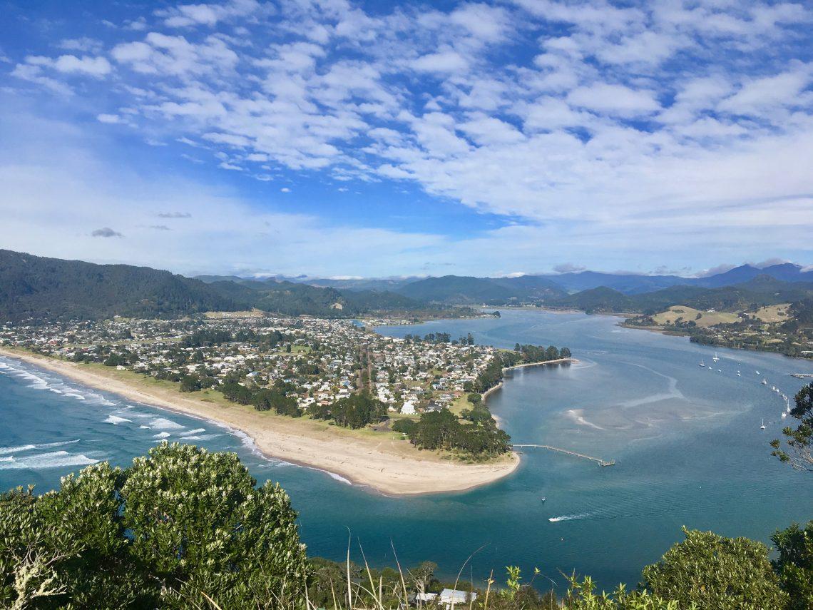 secret location New Zealand paku coromandel