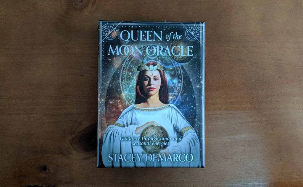 Queen of the Moon Oracle Box Front
