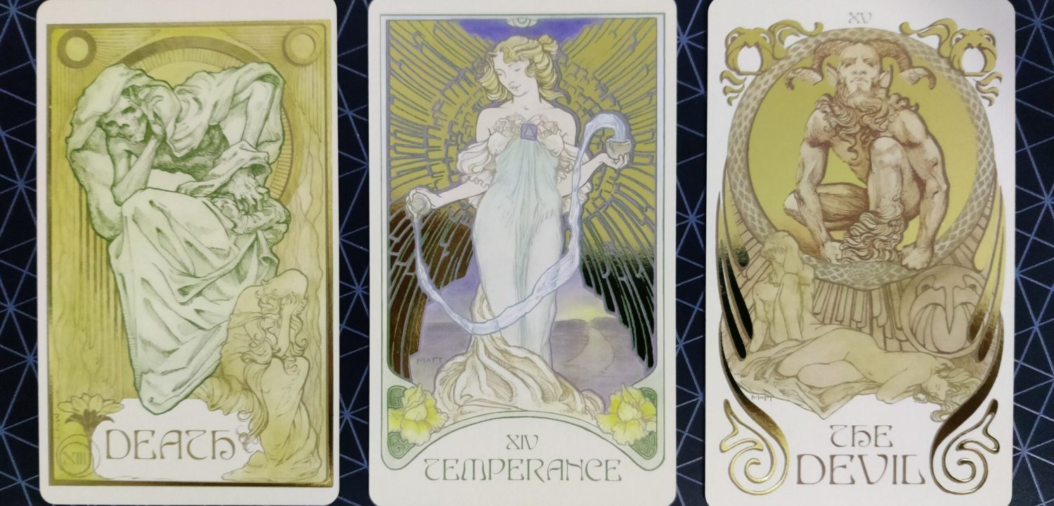 Ethereal Visions Illuminated Tarot
