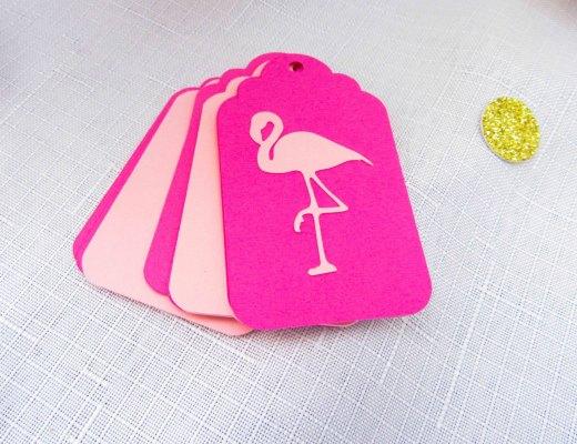 Flamingo Gift Tags