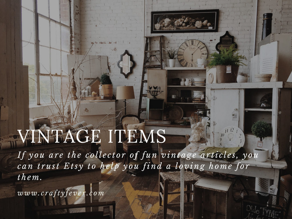 Best Selling Etsy Items 2016 - Vintage