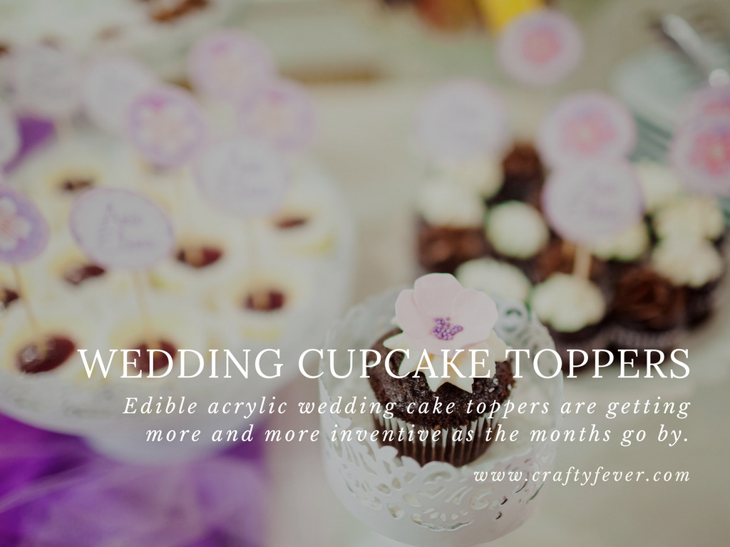 Top Selling Wedding Cupcake Toppers