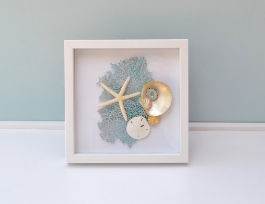 Nautical Decor, Beach Wedding Gift