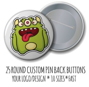 Custom Pins from JustStickerButtons