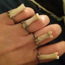 Tiny Bone Ring