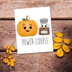 Power Couple Digital 8x10 Printable Poster