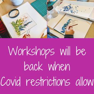 Workshops back soon