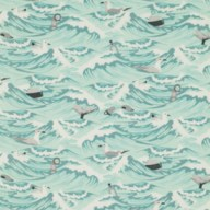 Sea Debris (in Aqua)
