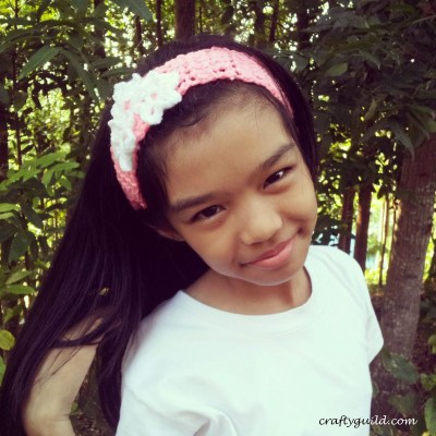 Star Petaled Flower Headband