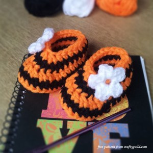 halloween new born baby booties