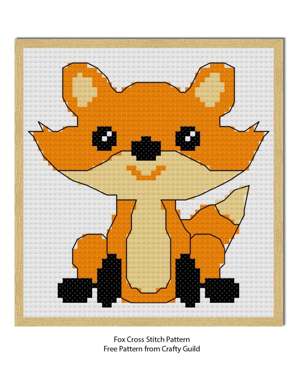 Free Fox Cross Stitch Pattern Extraordinary Cross Stitch Free Patterns