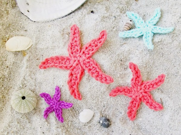 Starfish Crochet Pattern by Flower Girl Cottage