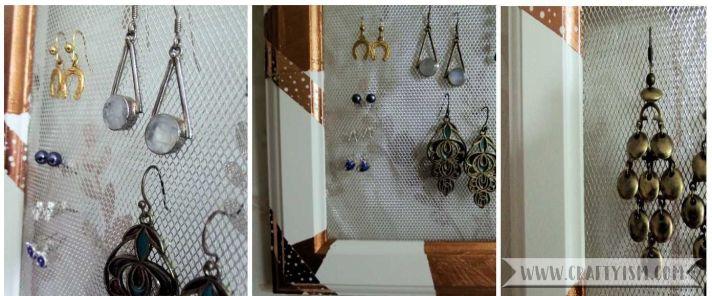 Framed Earring Hanger framed earring hanger
