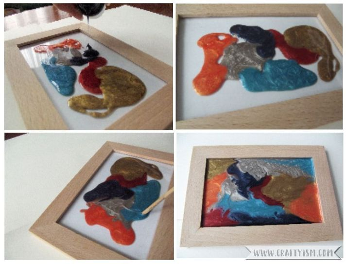Review Pebeo Fantasy Moon paint frame