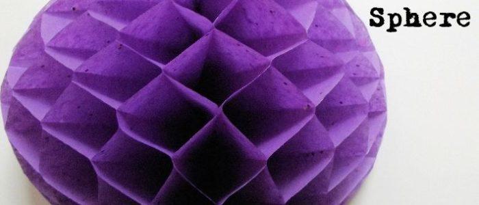 How-to Paper Honeycomb half sphere