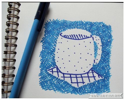 Review - Creative Marker Art and beyond by Lee Foster-Wilson | cup